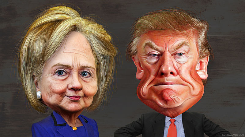 Hillary & Trump – Election 2016 – Is this the end?